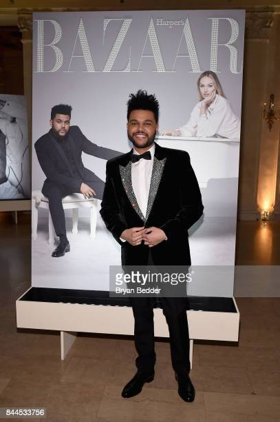 The Weeknd attends Harper's BAZAAR Celebration of 'ICONS By Carine Roitfeld' at The Plaza Hotel presented by Infor Laura Mercier Stella Artois...