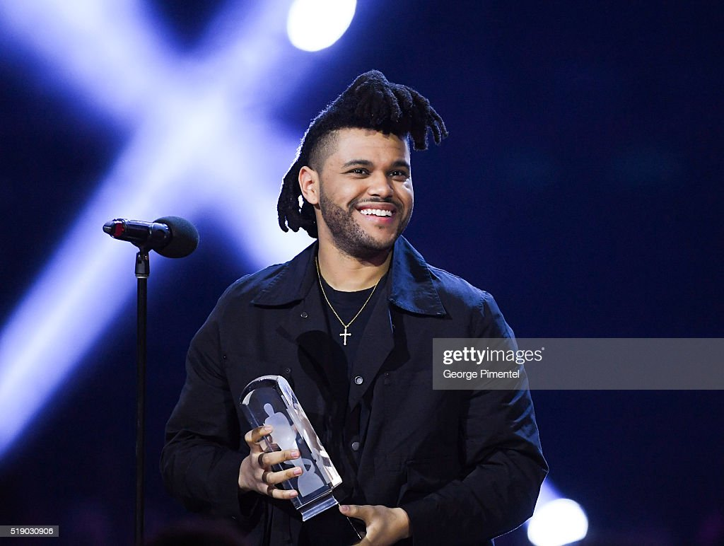 The Weeknd attends the 2016 Juno Awards at Scotiabank Saddledome on April 3, 2016 in Calgary, Canada.