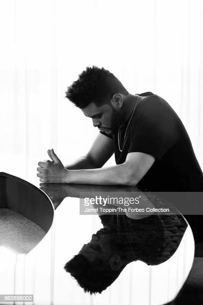 The Weeknd is photographed for Forbes Magazine on June 2 2017 at the Mohegan Sun in Uncasville Connecticut PUBLISHED IMAGE CREDIT MUST READ Jamel...