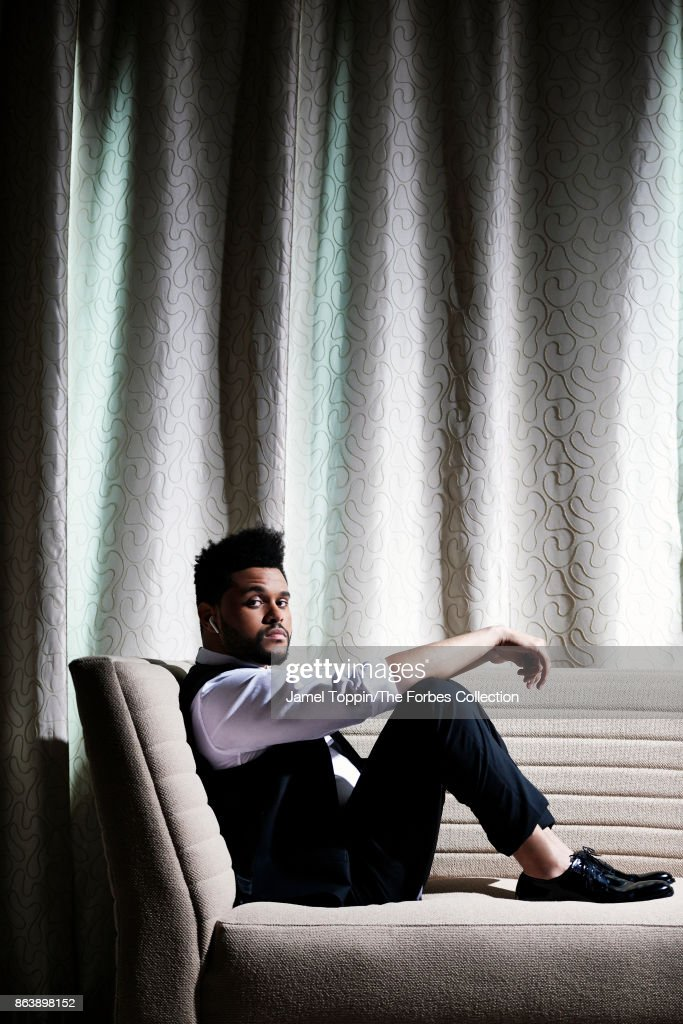 The Weeknd is photographed for Forbes Magazine on June 2, 2017 at the Mohegan Sun in Uncasville, Connecticut. PUBLISHED IMAGE.