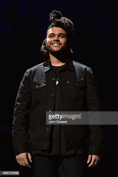 The Weeknd performs onstage at the 2015 iHeartRadio Music Festival at MGM Grand Garden Arena on September 19 2015 in Las Vegas Nevada