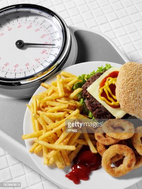 Le poids d'Alimentation lourde