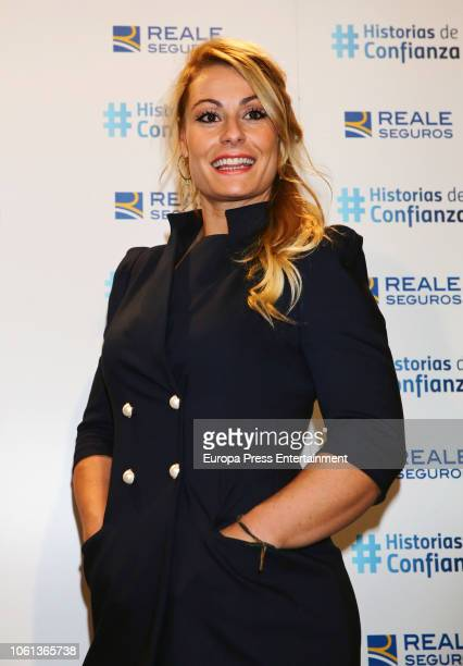 The weightlifting athlete Lidia Valentin attends the presentation of 'Historias de Confianza' by Reale on November 13 2018 in Madrid Spain