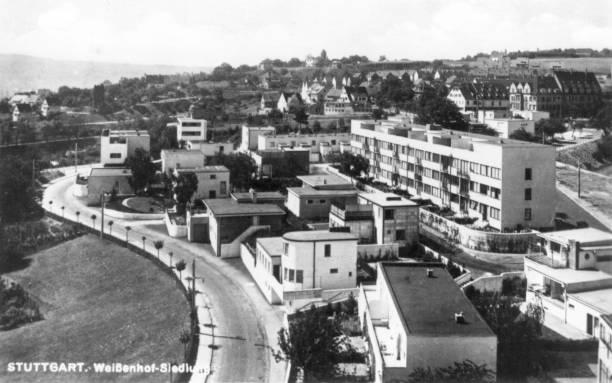 The Weissenhof Siedlung Housing Project at Stuttgart,...