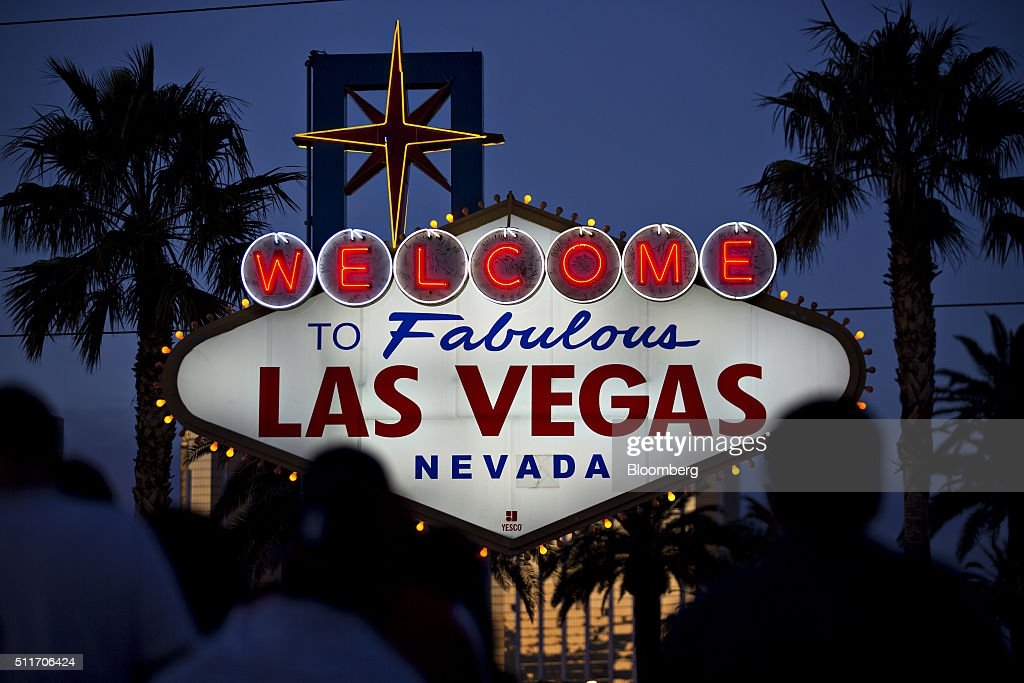 Views Of Las Vegas Ahead Of The Nevada Republican Caucuses : News Photo