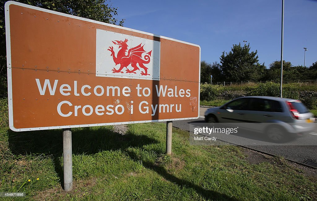 Symbols Of Wales : News Photo