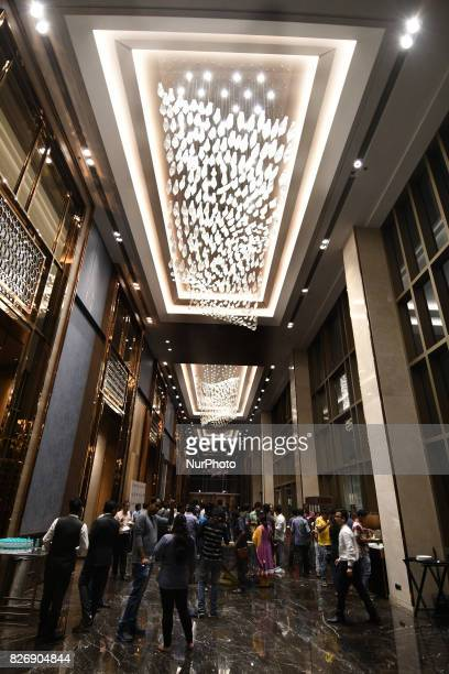 The Well decoration a Seven Star Hotel on August 052017 in KolkataIndia
