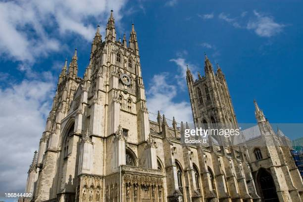 The well known and famous Canterbury Cathedral