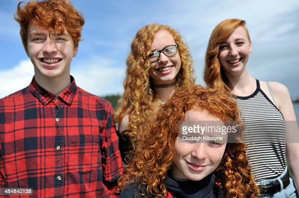 The Wellband family of redheads attend the Irish Redhead Convention which celebrates everything to do with red hair held in the village of Crosshaven...