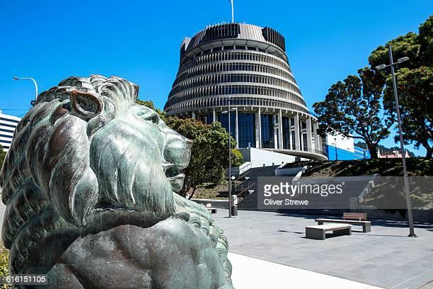 The Wellington Cenotaph Lions