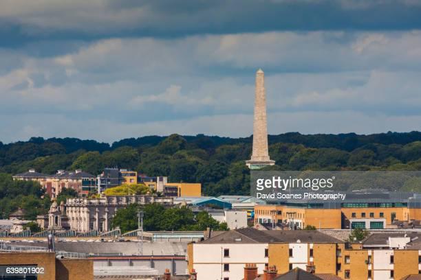 The Wellington Monument in Dublin City, Ireland