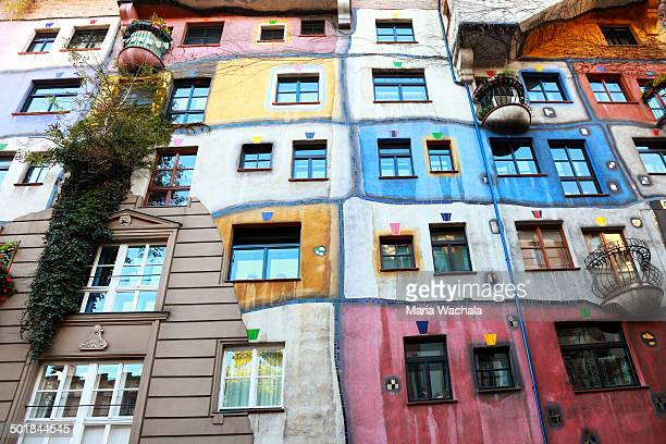 CONTENT] The wellknown building in Vienna designed by Austrian artist Friedensreich Hundertwasser with architect Joseph Krawina as a coauthor