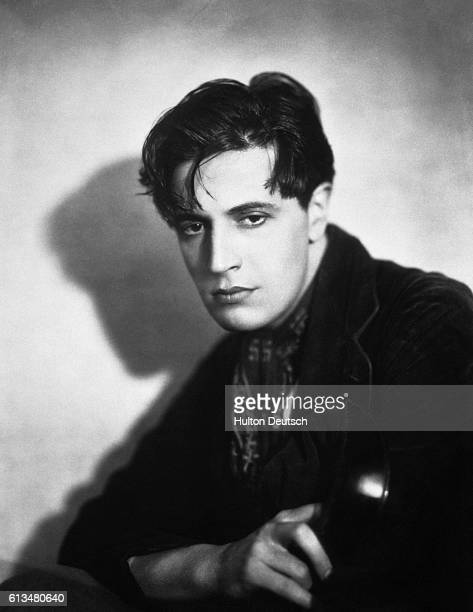The Welsh actor composer and song writer Ivor Novello as Pierre Boucheron in The Rat