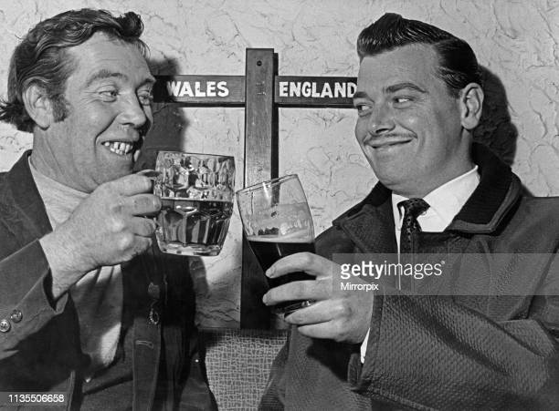 The Welsh and English can drink together now on Sunday in the Lion Hotel at the village of Llanymynech on the borders of Montgomeryshire and...