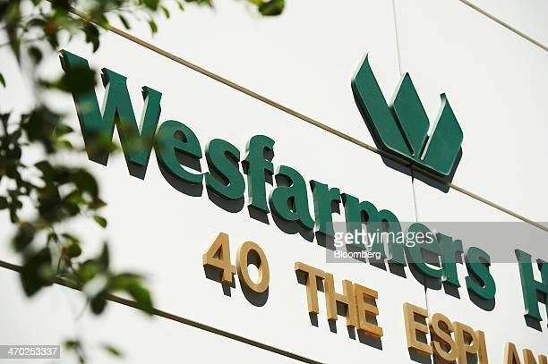 The Wesfarmers Ltd logo is displayed outside the Wesfarmers House building which houses the company's headquarters in Perth Australia on Wednesday...