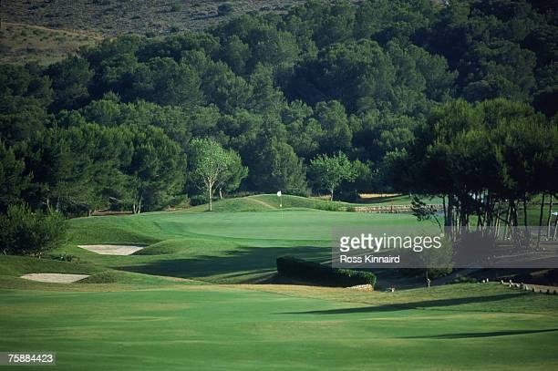 The West Course at La Manga Club, Murcia, Spain, June 2001.