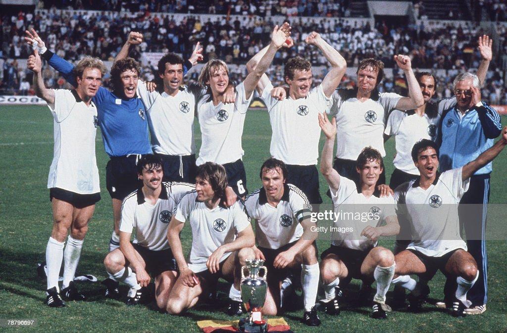 West German Winners : News Photo