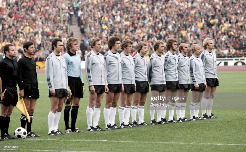 West Germany European Championships 1976 : News Photo