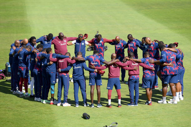GBR: England v West Indies: Day 3 - First Test #RaiseTheBat Series