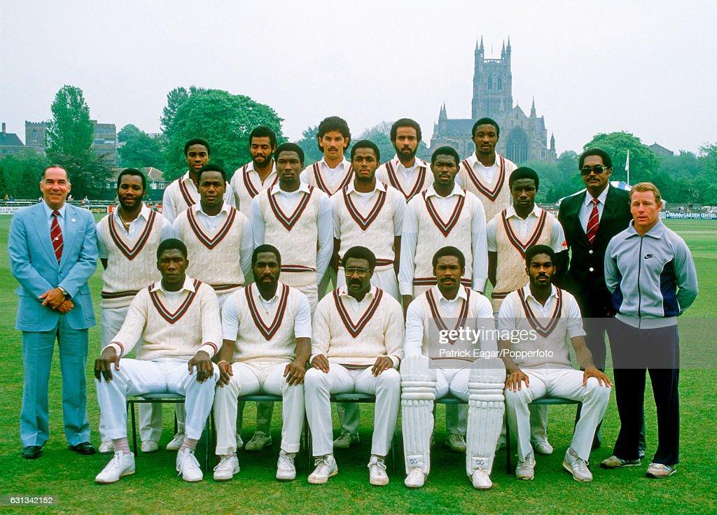 West Indies Cricket Team : News Photo