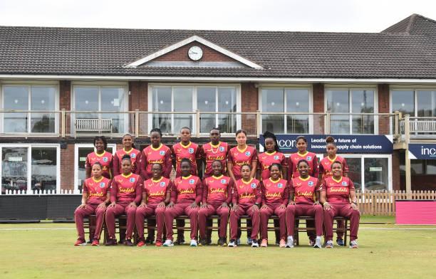 GBR: West Indies Women's T20 Squad Portraits
