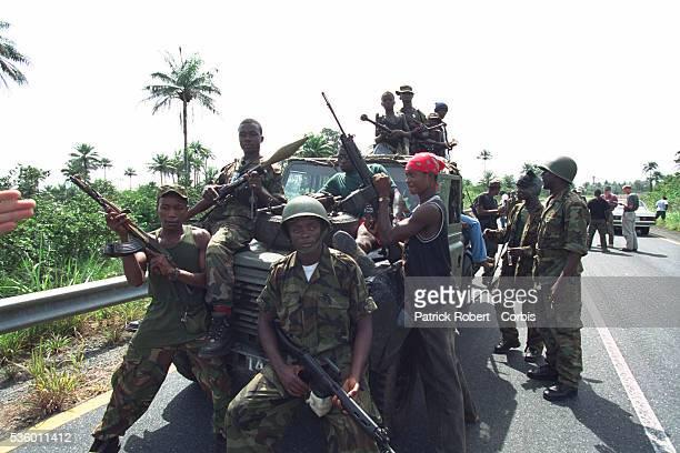 The West Side Boys militia at Masiaka