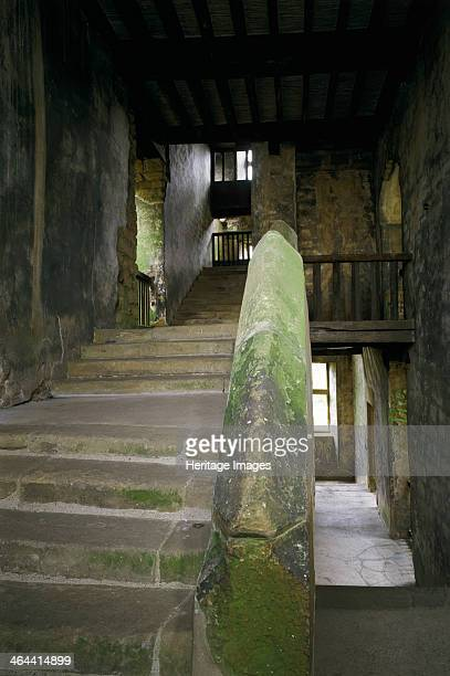The west staircase Hardwick Old Hall Derbyshire 1997