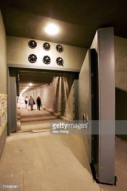 The West Tunnel Blast Door which weighs 25 tons and serves as an entrance to a former government relocation facility also know as the bunker at...