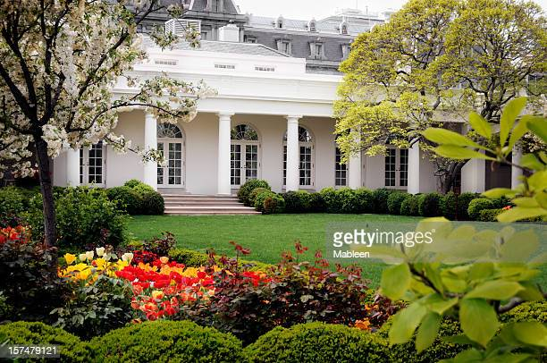the west wing,  white house, washington dc, usa - white house west wing stock photos and pictures