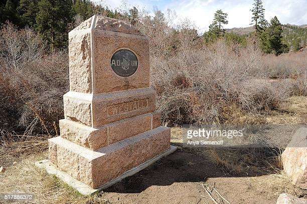 """The Westall Monument as photographed on March 14 in Jefferson County, Colorado. The monument is named for William G. """"Billy"""" Westall, a train..."""