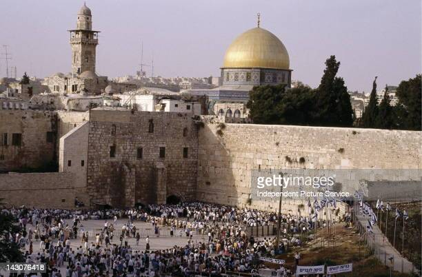 The Western Wall and Dome of the Rock Jerusalem