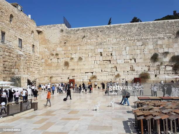 the western wall , jerusalem, israel - jerusalem old city stock pictures, royalty-free photos & images