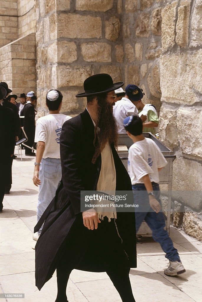 The Western Wall : News Photo