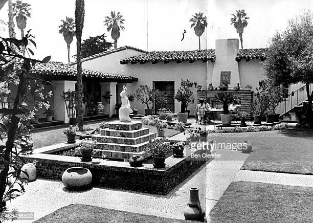 The Western White House circa 1969 in San Clemente, California. The estate, also known as La Casa Pacifica, was President Richard Nixon's retreat.