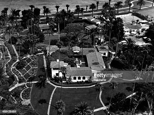 The Western White House circa 1984 in San Clemente, California. The estate, also known as La Casa Pacifica, was President Richard Nixon's retreat.