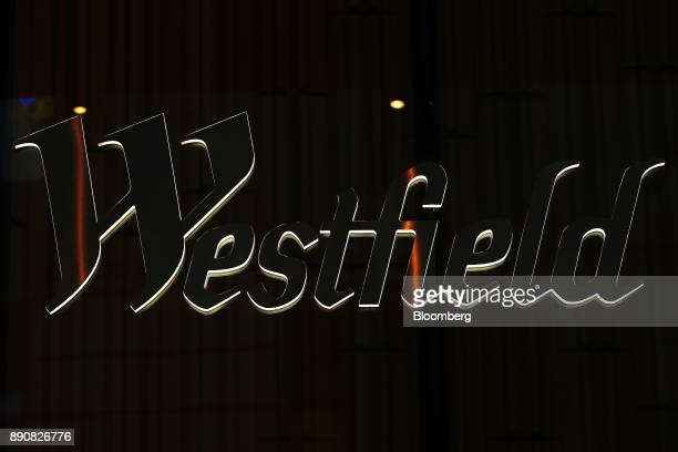 The Westfield logo is displayed at the Westfield Corp headquarters in Sydney Australia on Tuesday Dec 12 2017 UnibailRodamco SE Europe's largest...