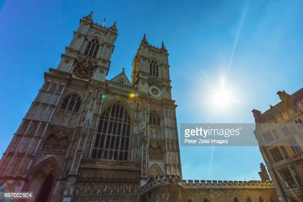 The Westminster Abbey in London, UK