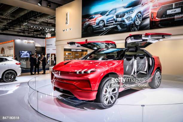 The Wey SUV Concept on display at the 2017 Frankfurt Auto Show 'Internationale Automobil Ausstellung' on September 13 2017 in Frankfurt am Main...