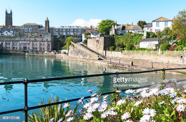 The Wharf At Penzance In Cornwall, England, UK.