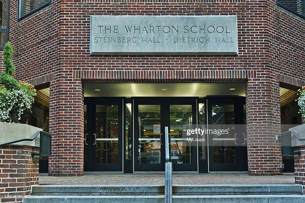 The Wharton School of Business at the University of Pennsylvania, Philadelphia, PA, USA  : News Photo