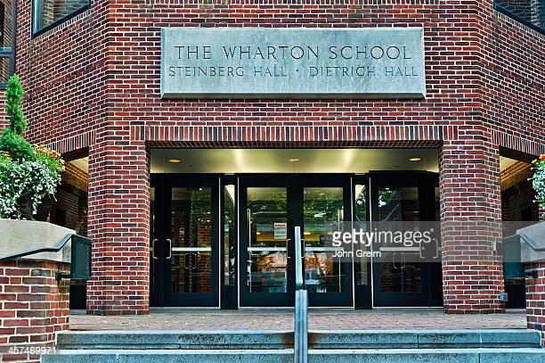 The Wharton School of Business at the University of Pennsylvania.