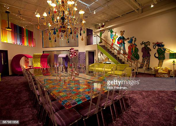 'The Whimsey Room' is a conference room at the Judge Rotenberg Center The table chairs and most of the art is one of a kind created for the Judge...
