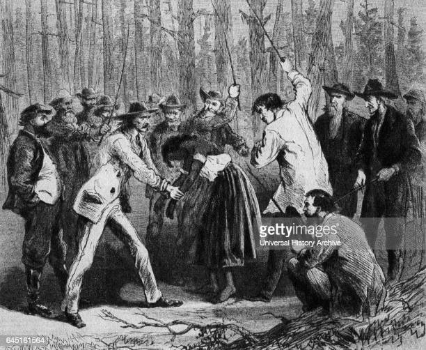 The whipping of Phillis a young North Carolina freedwoman took place because she struck a white girl