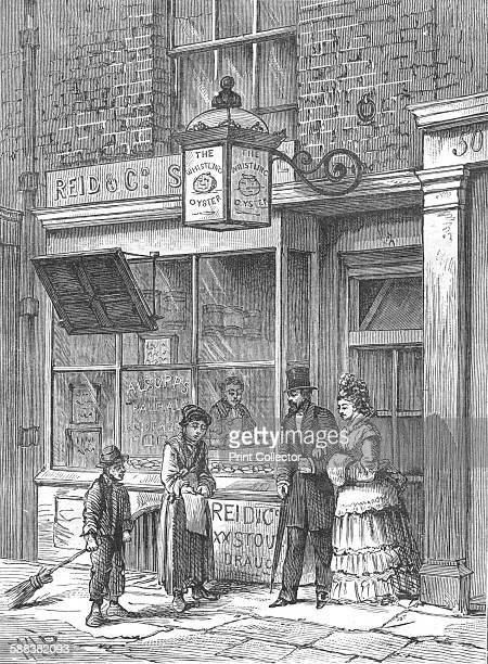 The 'Whistling Oyster' 1897 From Old and New London Vol 111 by Edward Walford