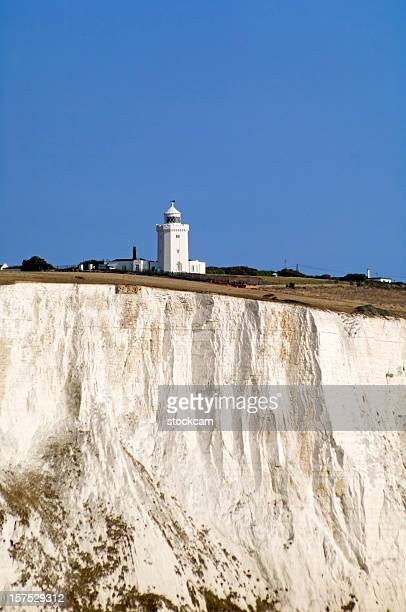 The White Cliffs of Dover in Kent England