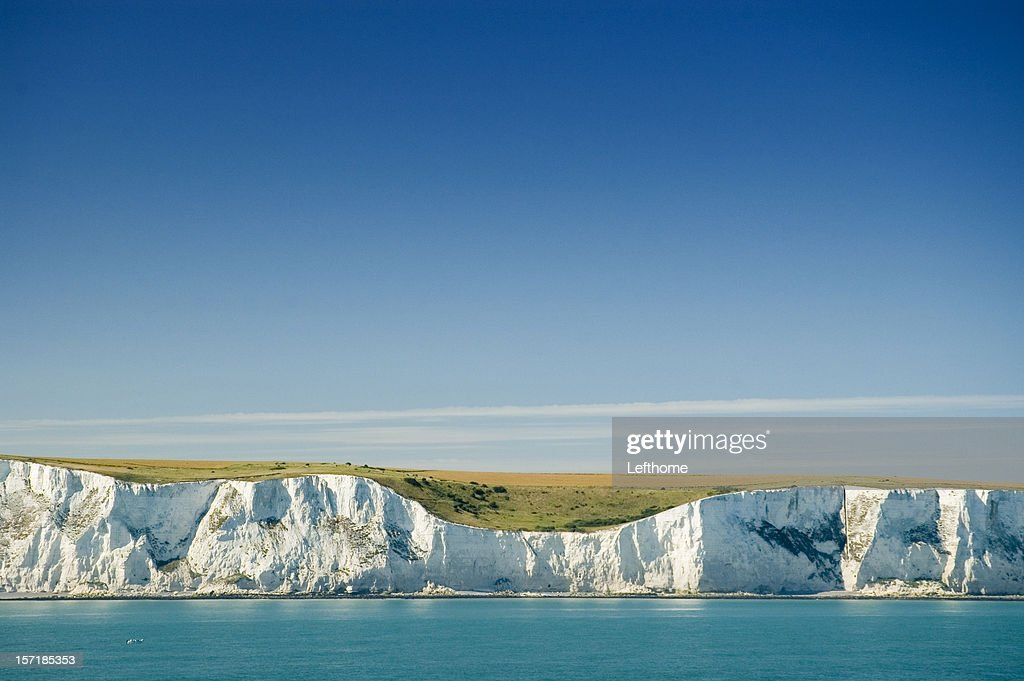 The White Cliffs of Dover : Stock Photo