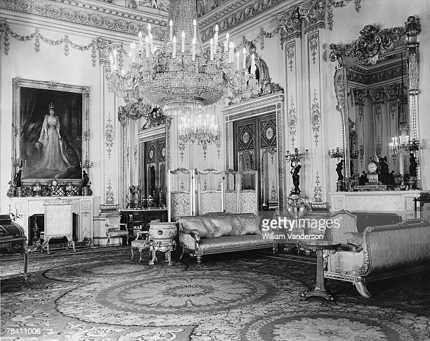 The White Drawing Room in Buckingham Palace 21st August 1947