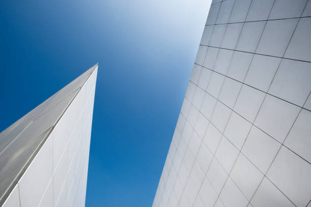 The white facades of the IMA