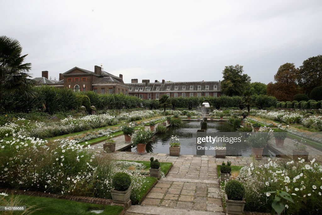 Tributes Are Left At Kensington Palace In Celebration Of Princess Diana's Life : News Photo