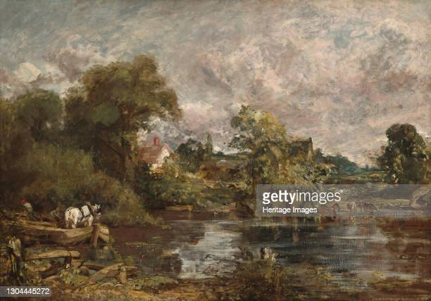 The White Horse, 1818-1819. Artist John Constable.